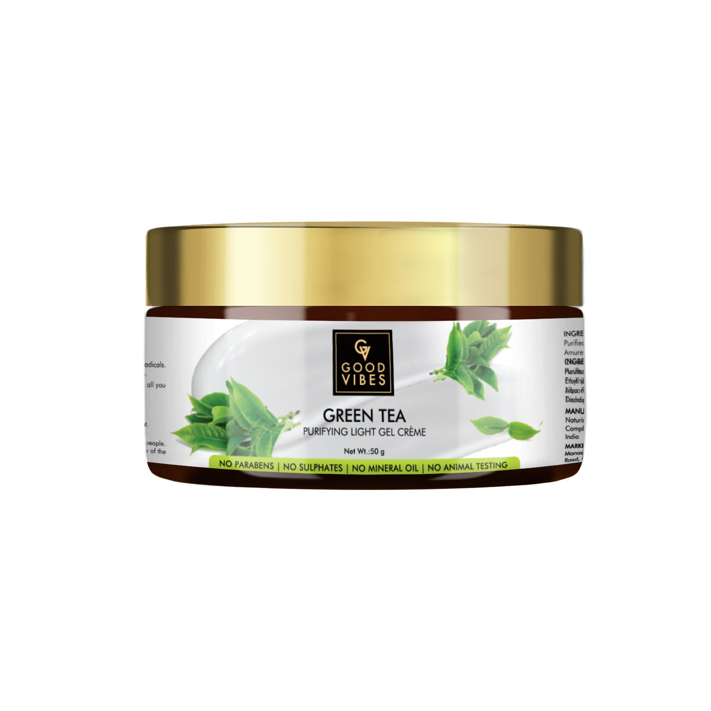 Good Vibes | Good Vibes Green Tea Purifying Light Gel Cream (50 g)