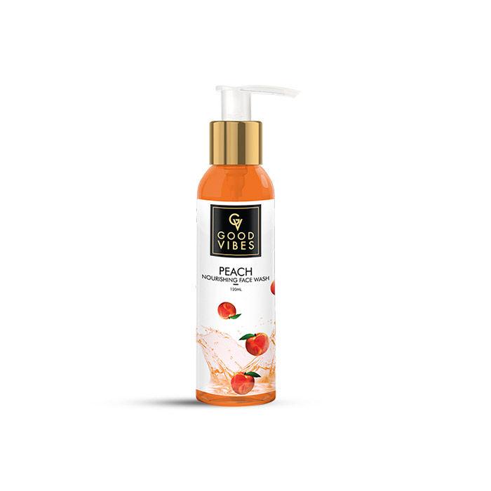 Good Vibes | Good Vibes Nourishing Face Wash - Peach (120 ml)