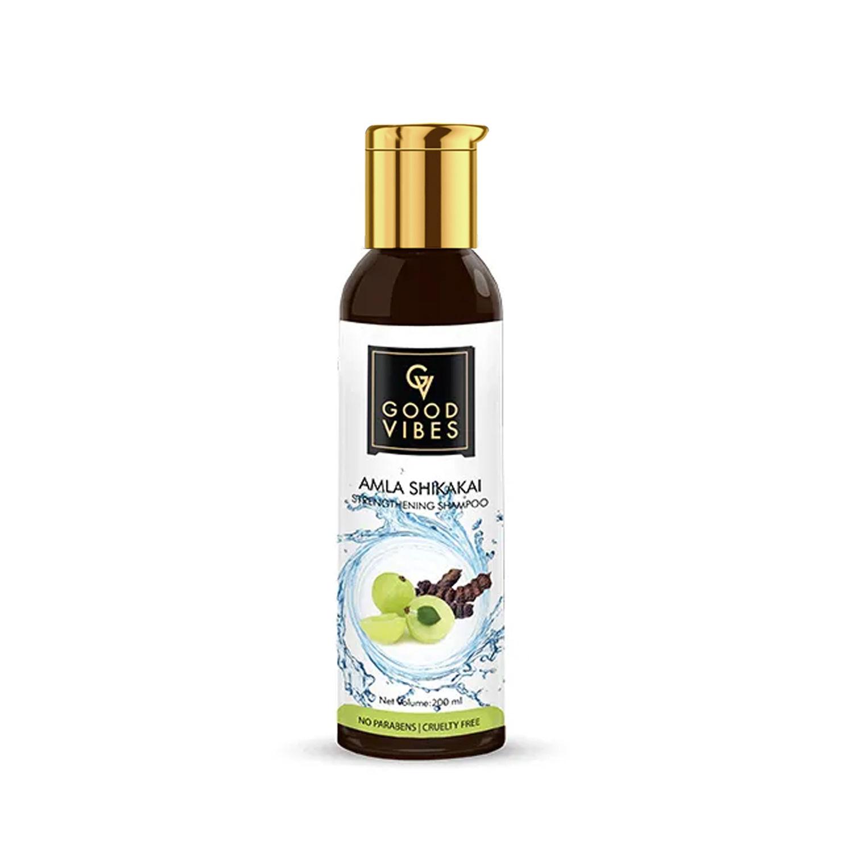 Good Vibes | Good Vibes Strengthening Shampoo - Amla Shikakai (200 ml)