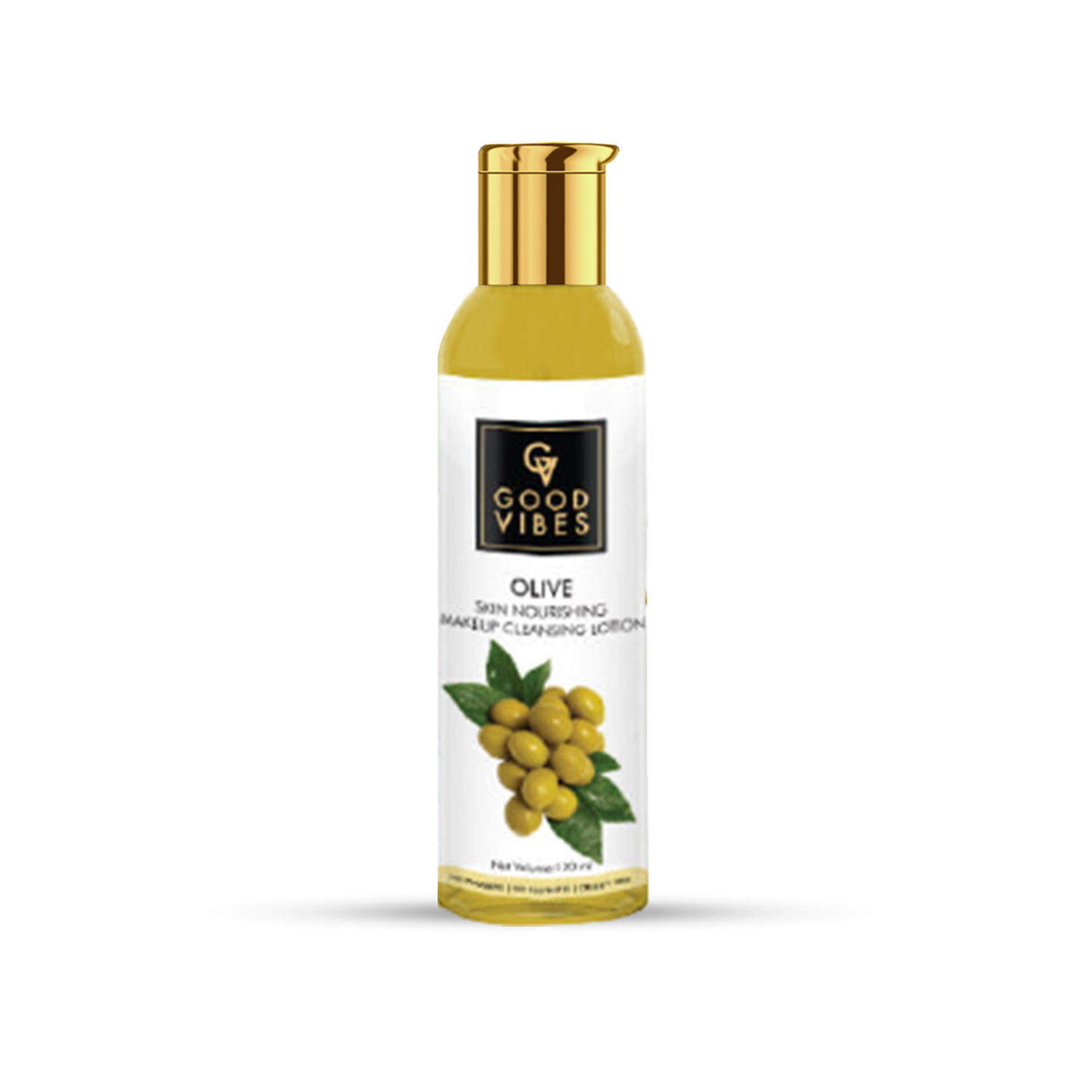 Good Vibes | Good Vibes Skin Nourishing Makeup Cleansing Lotion - Olive (120 ml)