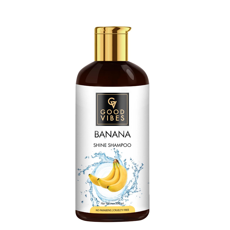 Good Vibes | Good Vibes Shine Shampoo - Banana (300 ml)