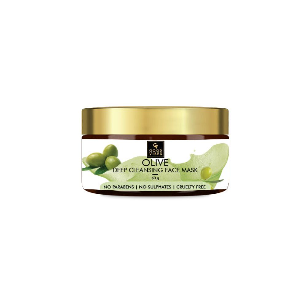 Good Vibes | Good Vibes Deep Cleansing Face Mask - Olive (60 g)