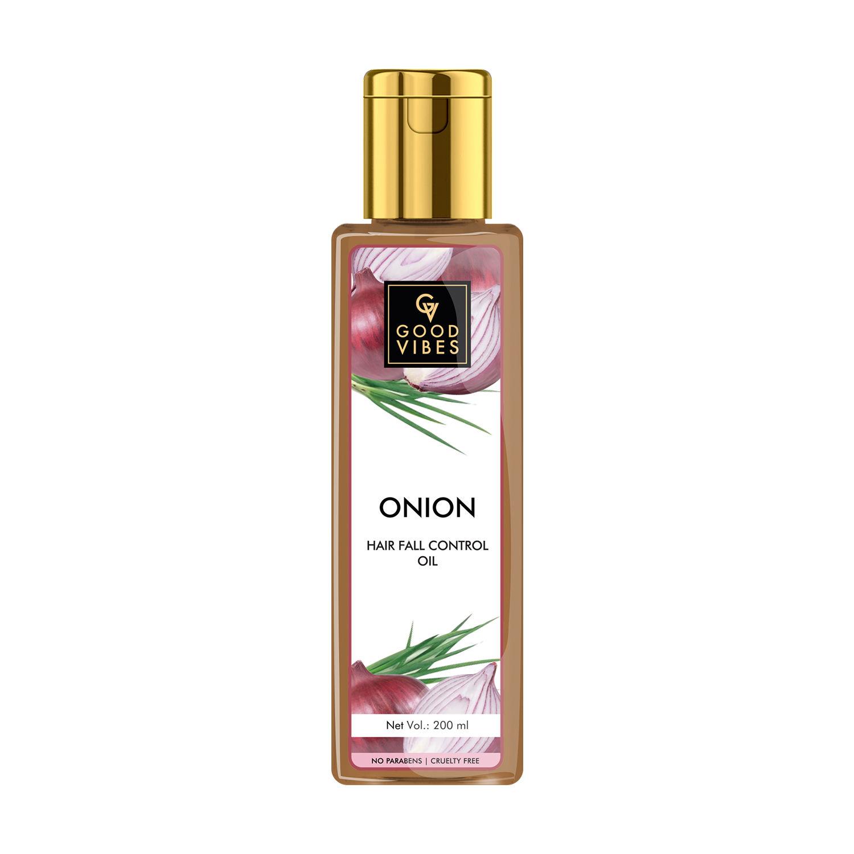 Good Vibes | Good Vibes Onion Hairfall Control Hair Oil (200 ml)