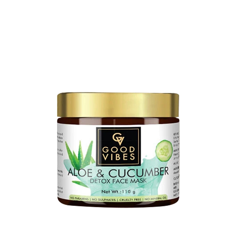 Good Vibes | Good Vibes Detox Face Mask - Aloe & Cucumber (110 g)