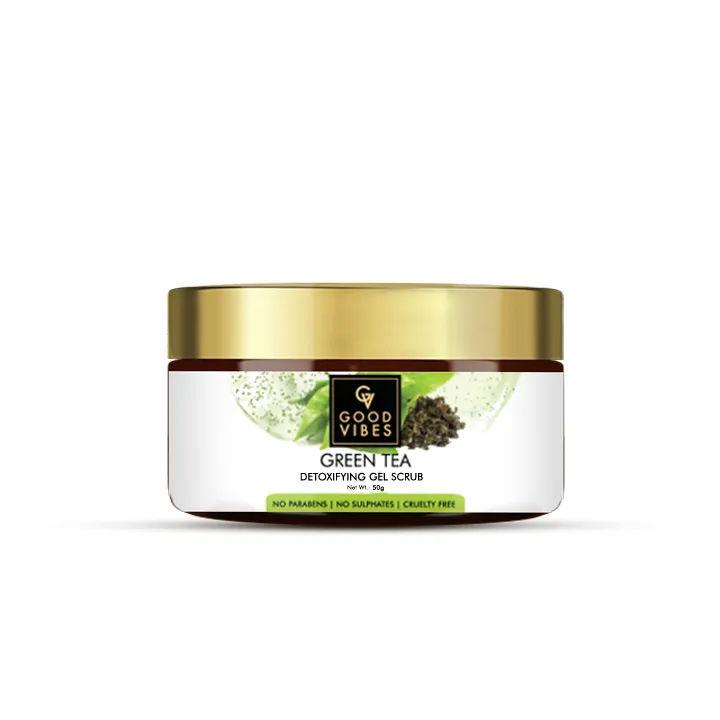 Good Vibes | Good Vibes Detoxifying Gel Scrub - Green Tea (50 g)