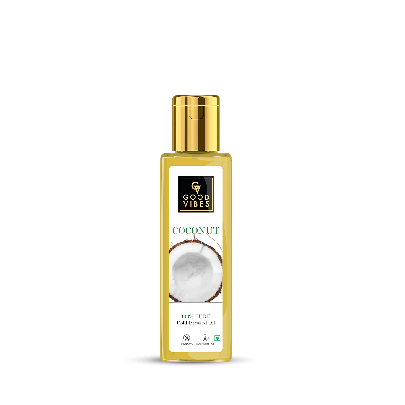 Good Vibes | Good Vibes 100% Pure Coconut Carrier Oil Cold Pressed(100 ml)