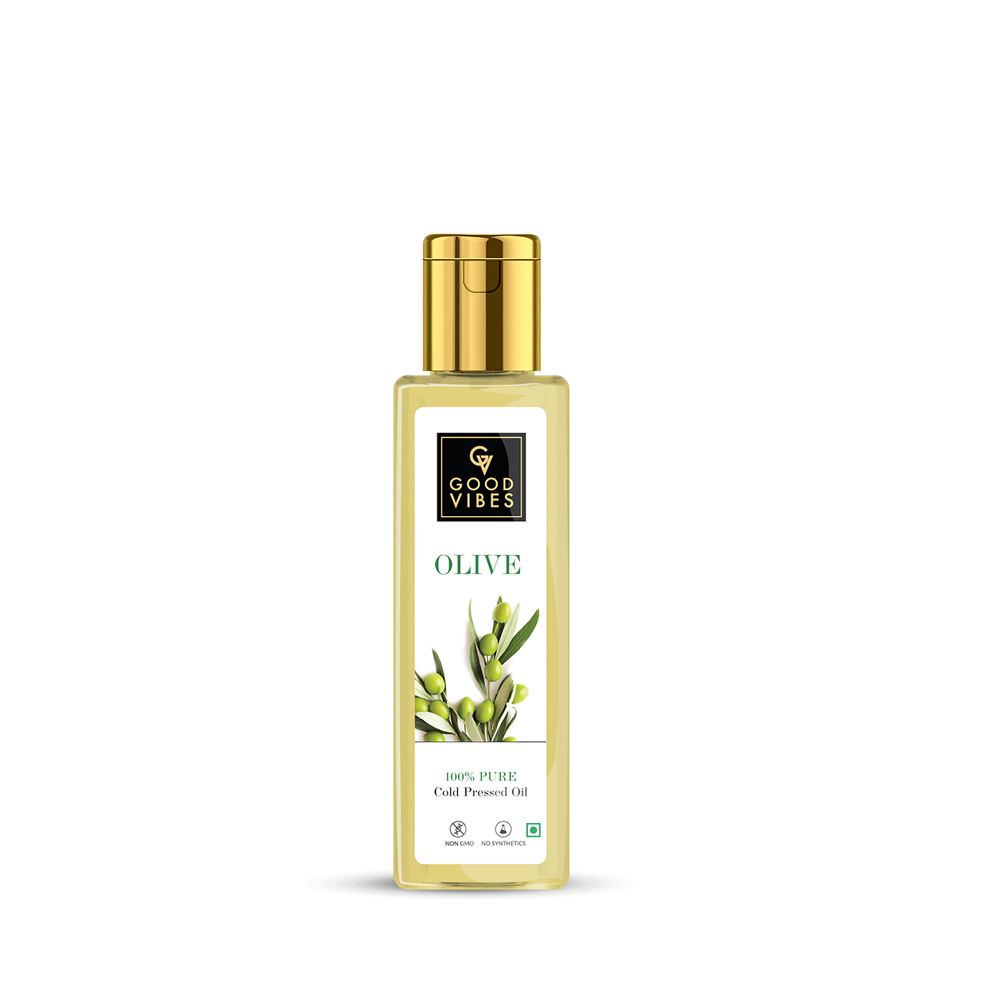 Good Vibes | Good Vibes 100% Pure Olive Carrier Oil Cold Pressed(100 ml)