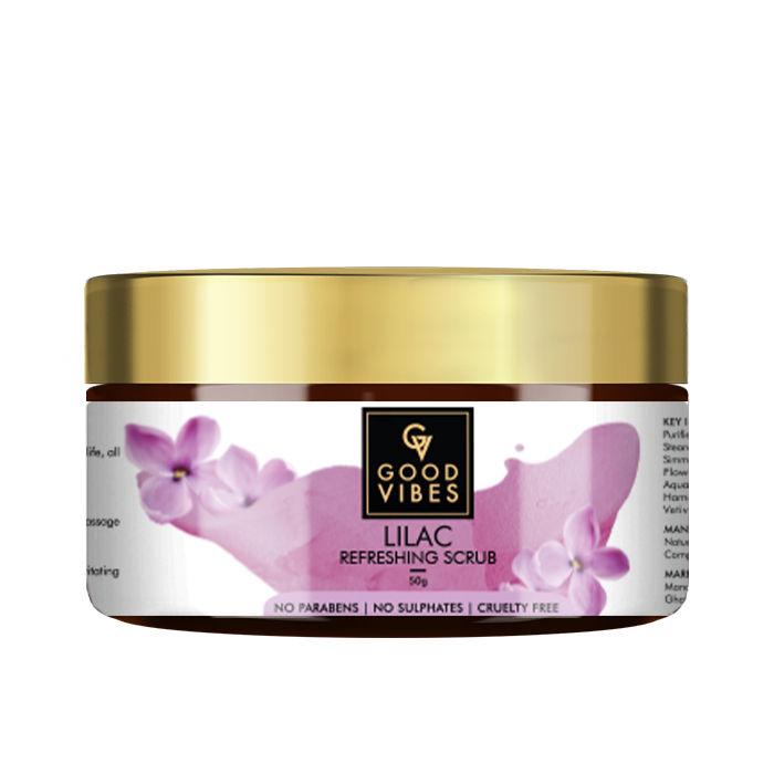 Good Vibes | Good Vibes Refreshing Face Scrub - Lilac (50 g)
