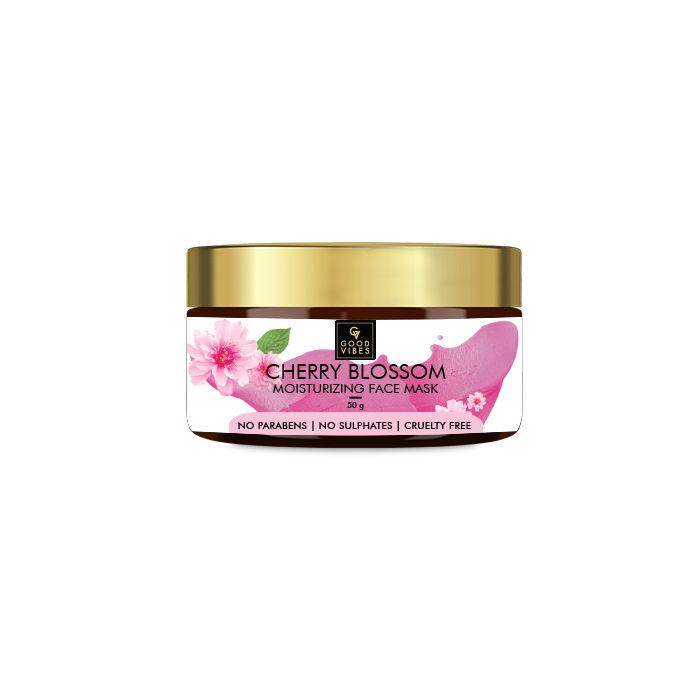 Good Vibes | Good Vibes Moisturizing Face Mask - Cherry Blossom (60 g)