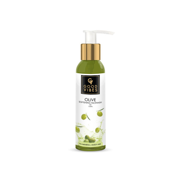 Good Vibes | Good Vibes Softening Face Wash - Olive (120 ml)