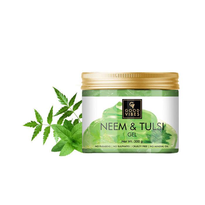 Good Vibes | Good Vibes Gel - Neem & Tulsi (300 g)