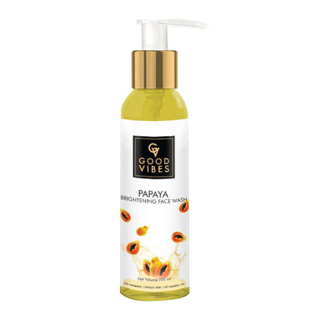 Good Vibes | Good Vibes Brightening Face Wash - Papaya (200 ml)