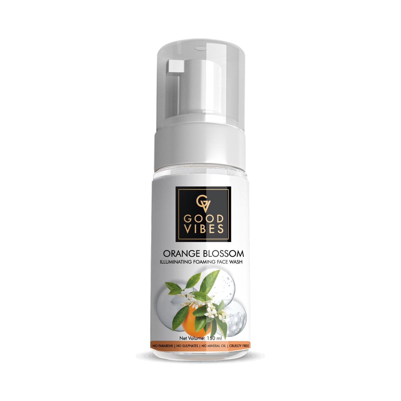 Good Vibes | Good Vibes Illuminating Foaming Face Wash - Orange Blossom (150ml)