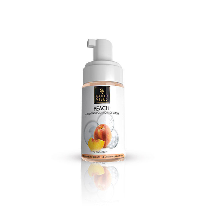 Good Vibes | Good Vibes Hydrating Foaming Face Wash - Peach (150ml)