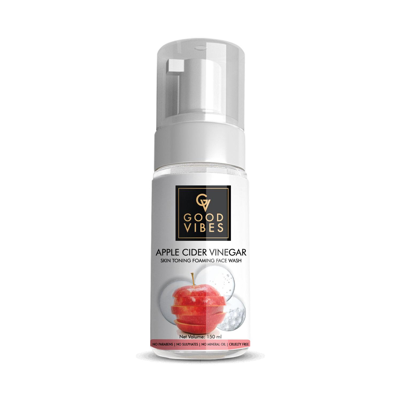 Good Vibes | Good Vibes Skin Toning Foaming Face Wash - Apple Cider Vinegar (150ml)