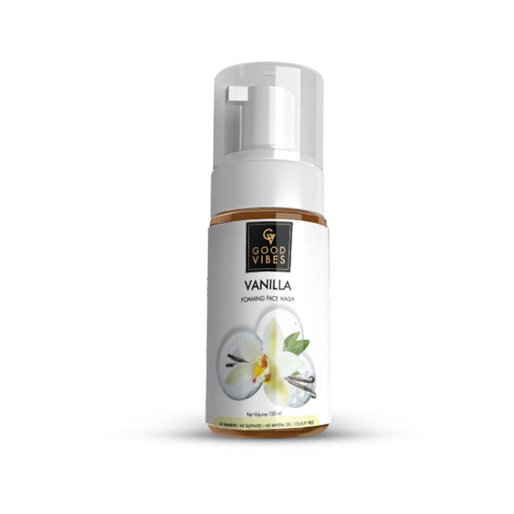 Good Vibes | Good Vibes Foaming Face Wash - Vanilla (150 ml)