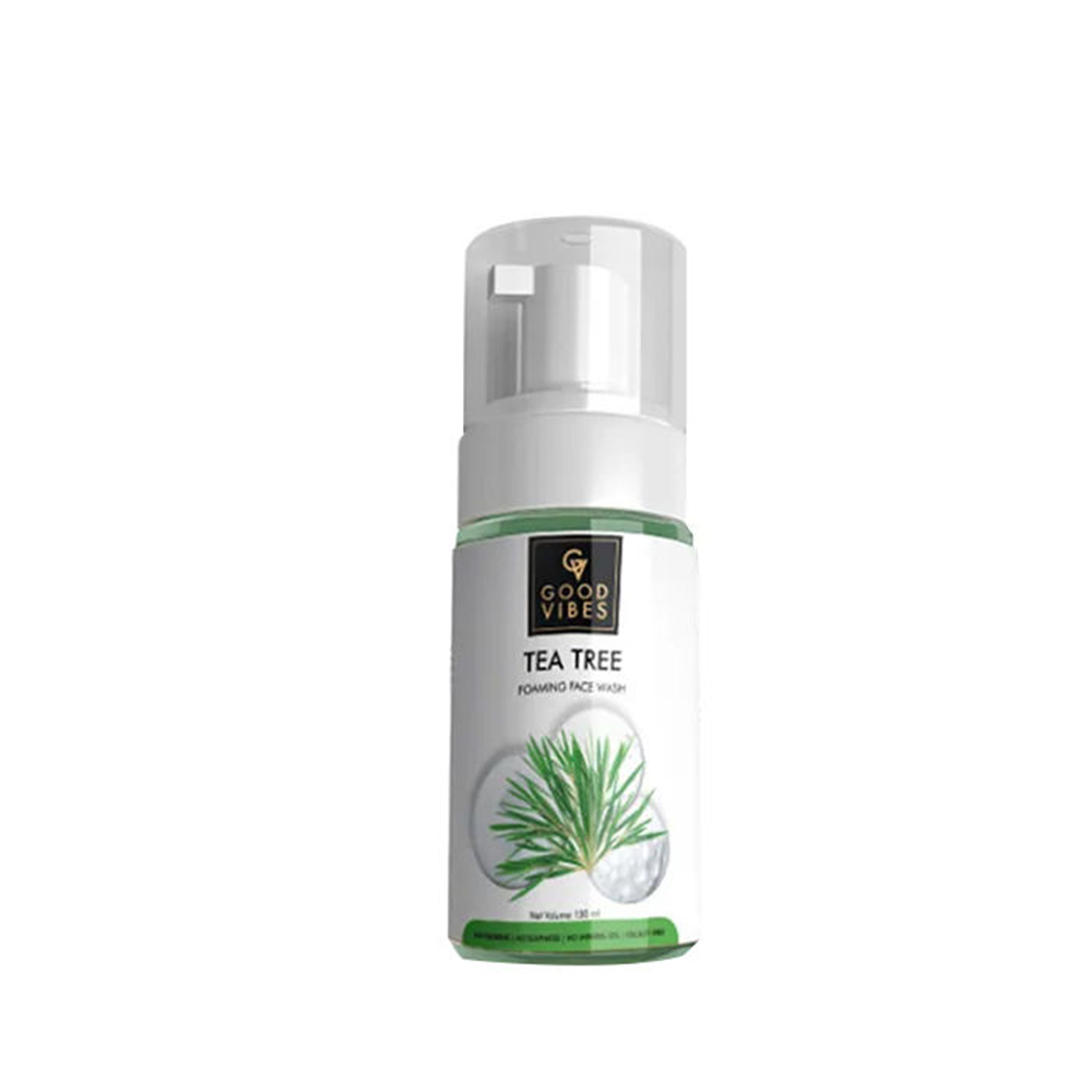 Good Vibes | Good Vibes Foaming Face Wash - Tea Tree (150 ml)