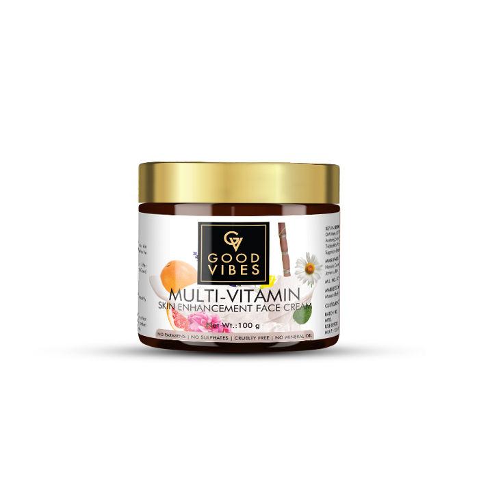 Good Vibes | Good Vibes Skin Enhancement Face Cream - Multi Vitamin (100 g)