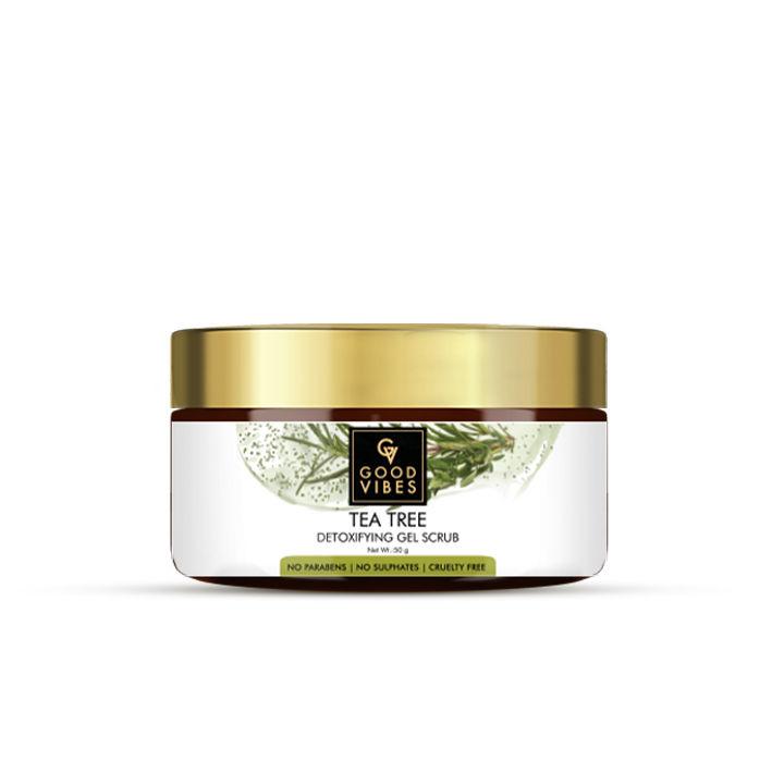 Good Vibes | Good Vibes Detoxifying Gel Scrub - Tea Tree (50 g)