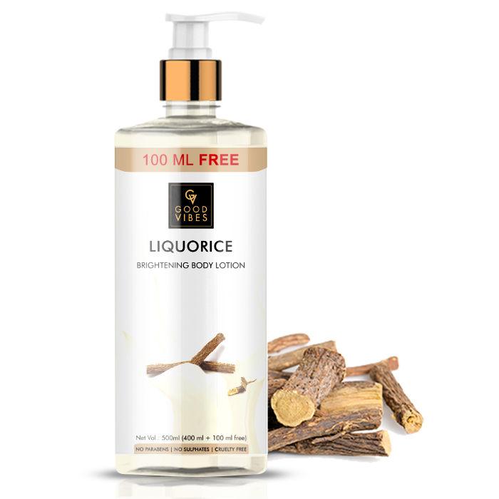 Good Vibes | Good Vibes Liquorice Brightening Body Lotion (400ml + 100 ml free)