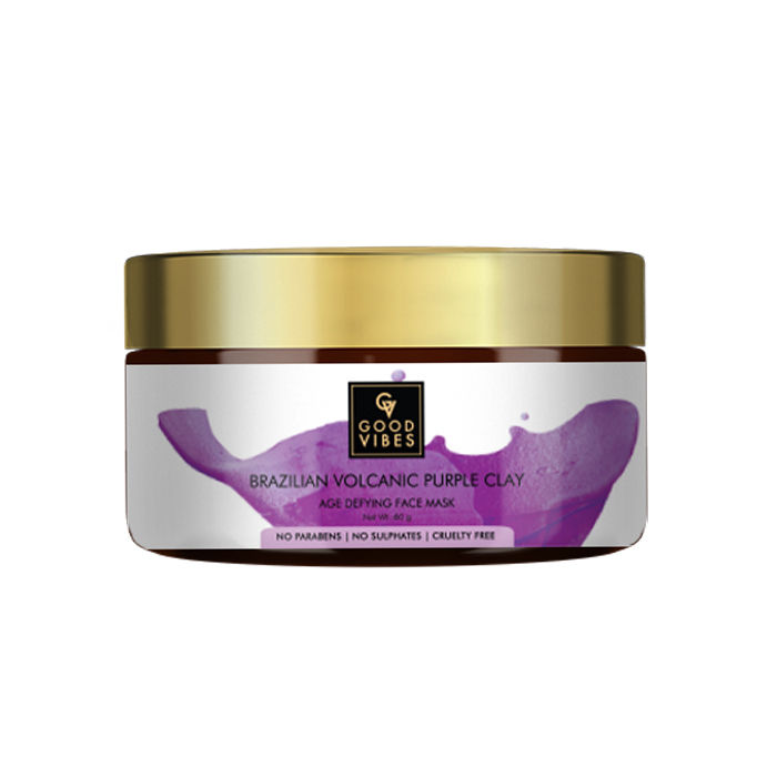 Good Vibes | Good Vibes Brazilian Volcanic Purple Clay Age Defying Face Mask (60 g)