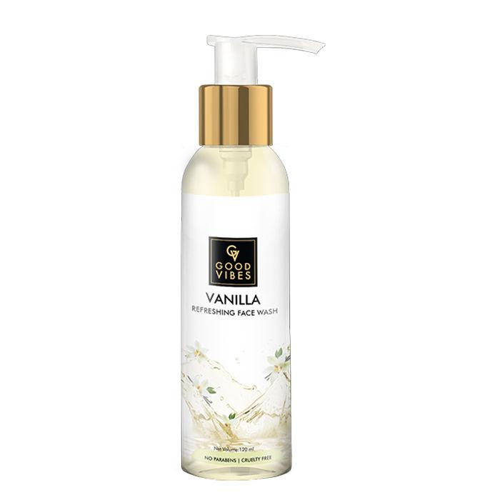 Good Vibes | Good Vibes Refreshing Face Wash - Vanilla (120 ml)