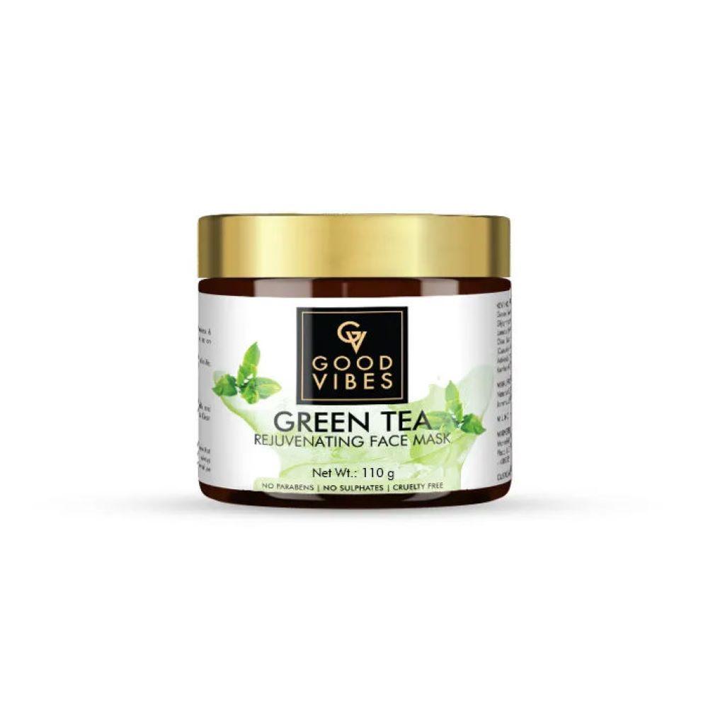 Good Vibes | Good Vibes Rejuvenating Face Mask - Green Tea (110 g)