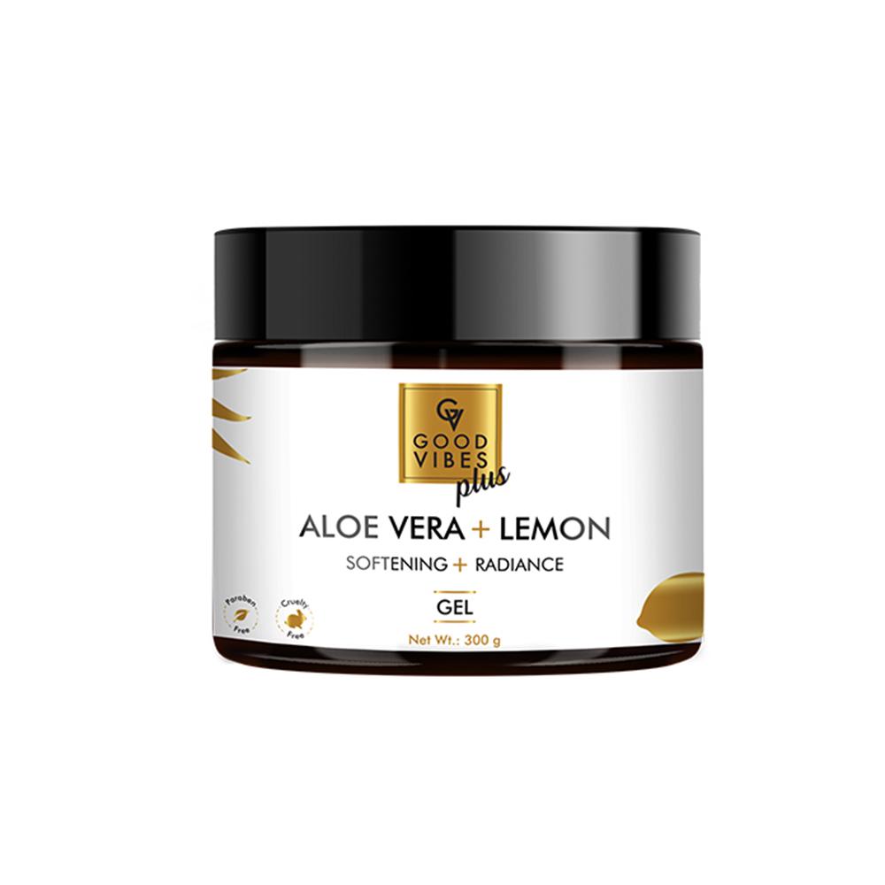 Good Vibes | Good Vibes Plus Softening + Radiance Gel - Aloe Vera + Lemon (300 g)