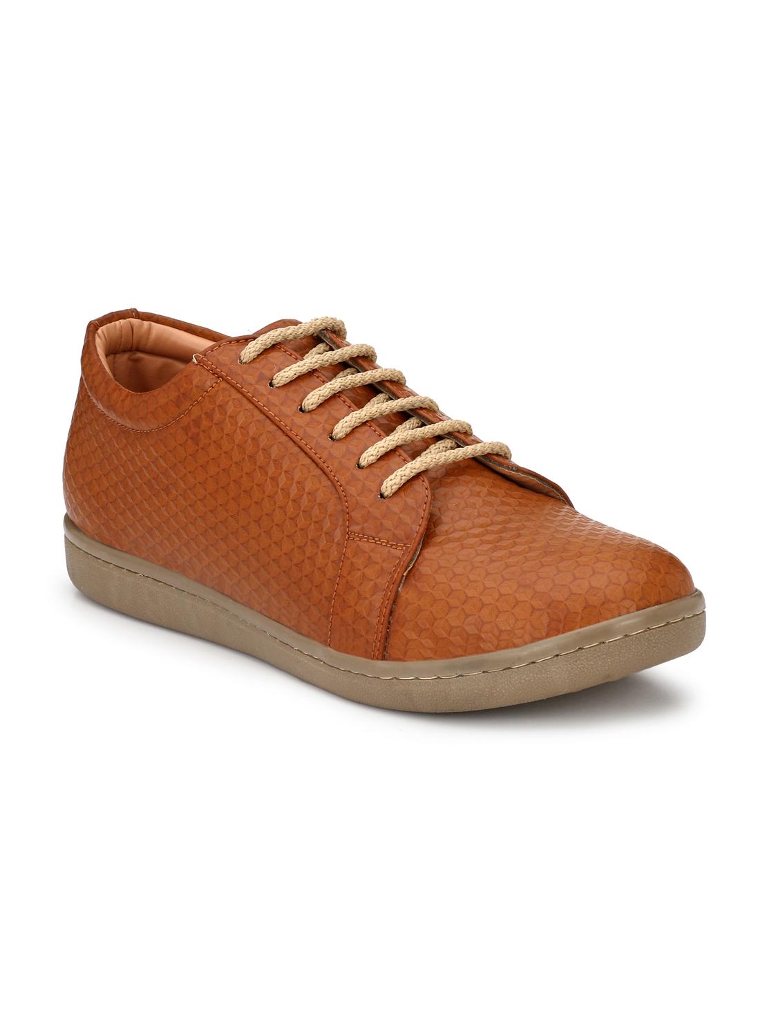 Guava | Guava Men's diamond cut comfy sneakers - Brown