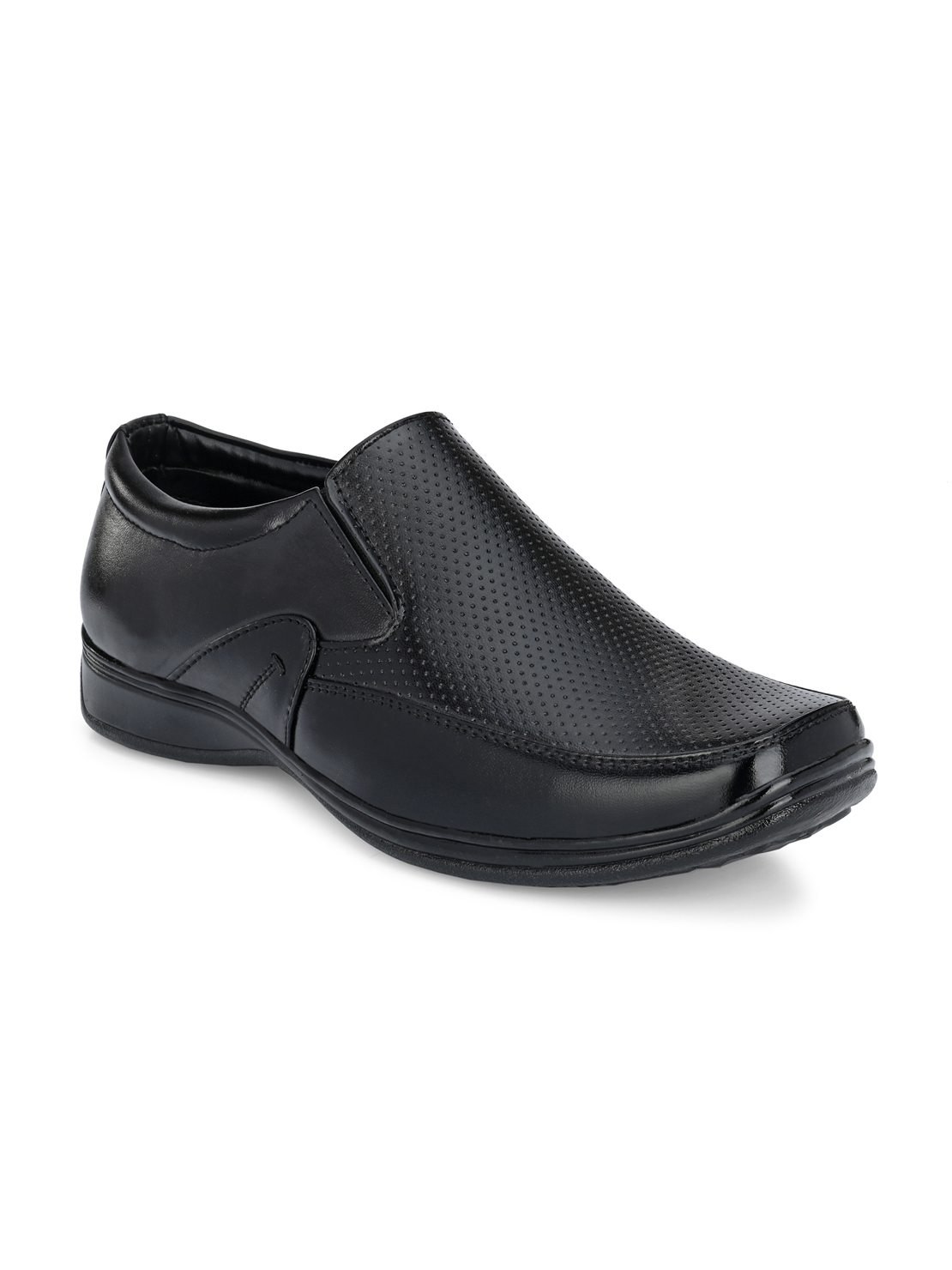 Guava | Guava Men's Square Toe Black Slip-On Formal Shoes - 6 (UK)