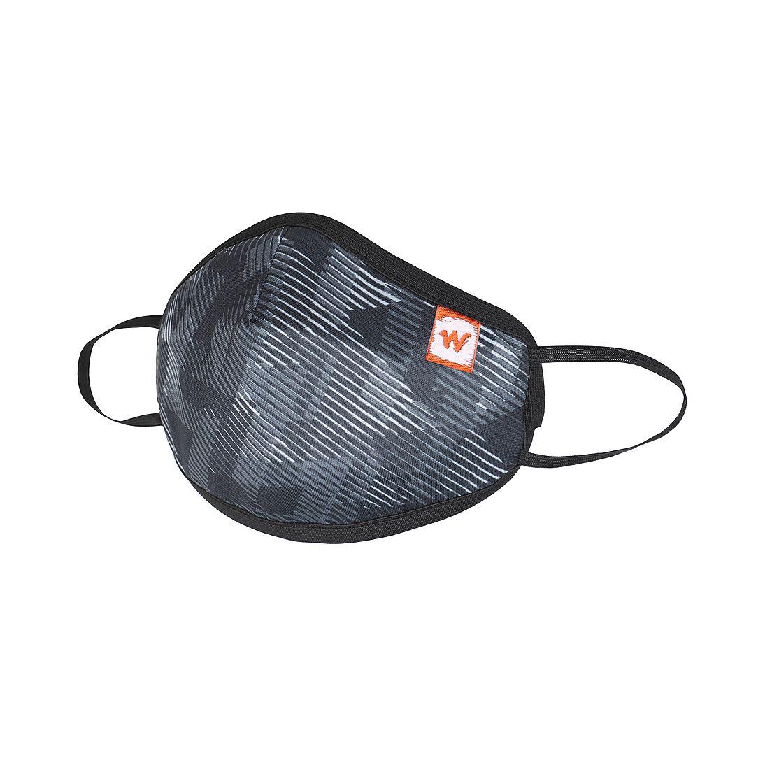 WILDCRAFT | Wildcraft Outdoor Respirator Black Mask