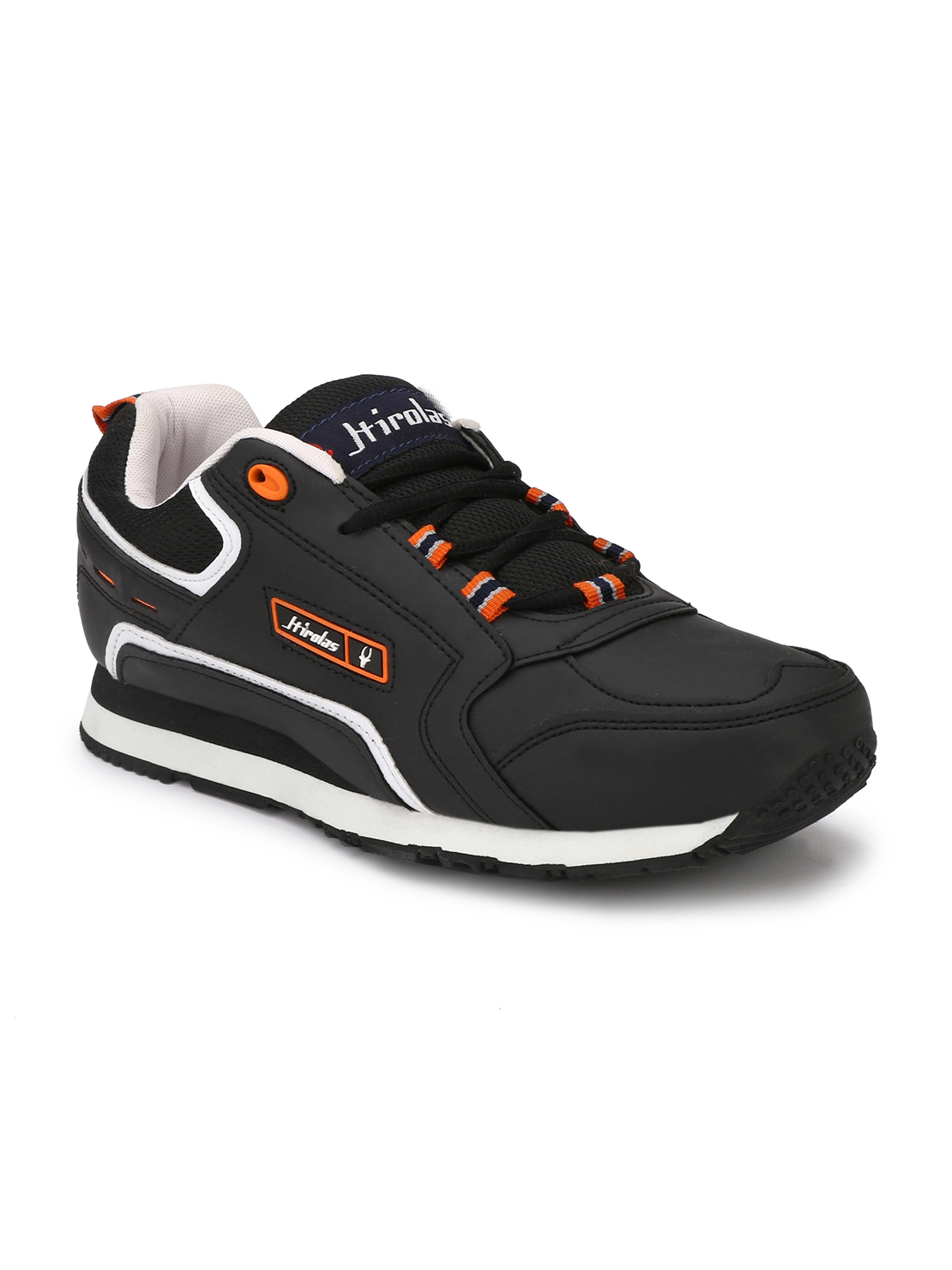 Hirolas   Hirolas Men's Multisport Sneaker Shoes- Black