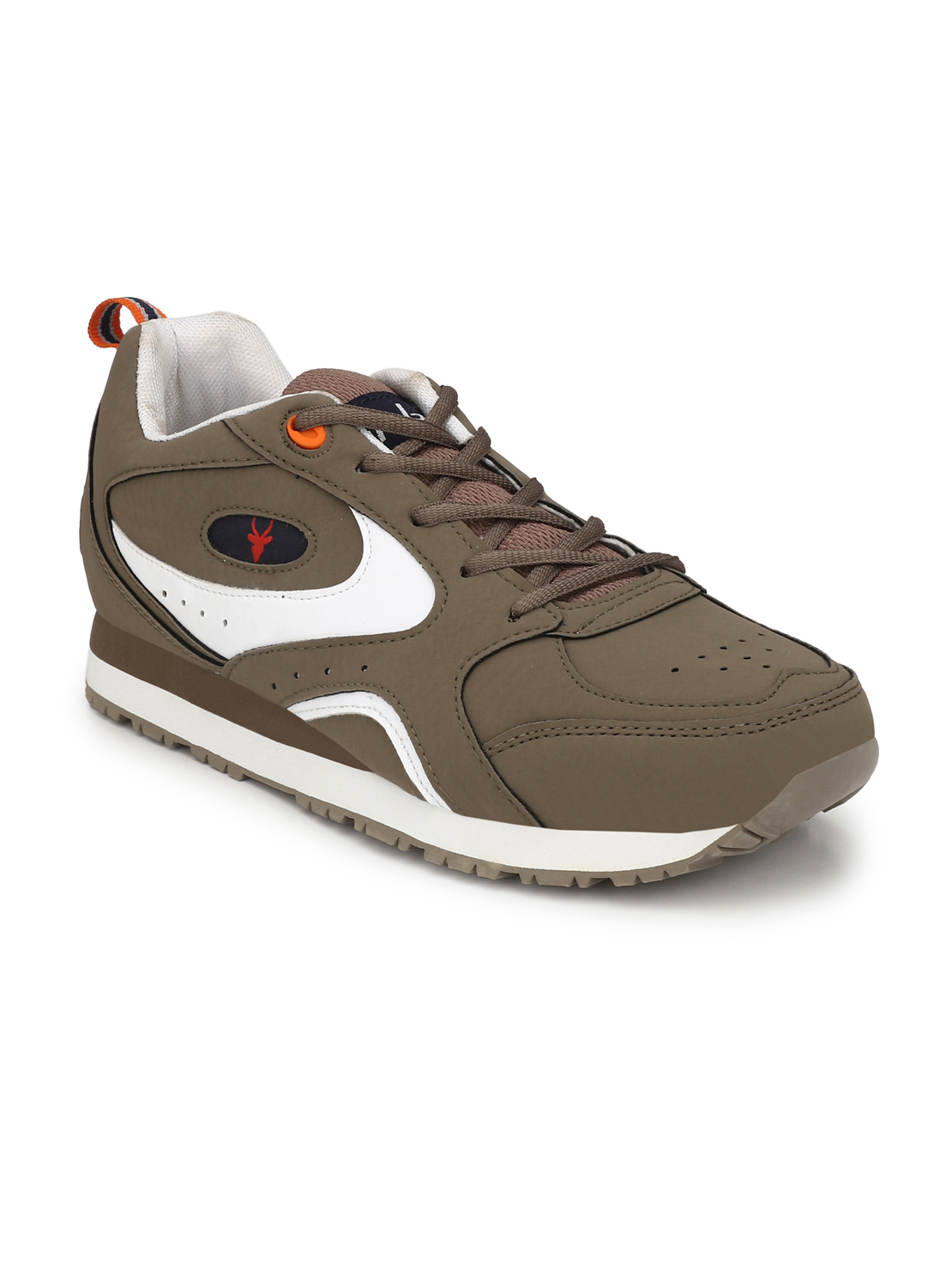 Hirolas | Hirolas Men's Multisport Sneaker Shoes- Chickoo