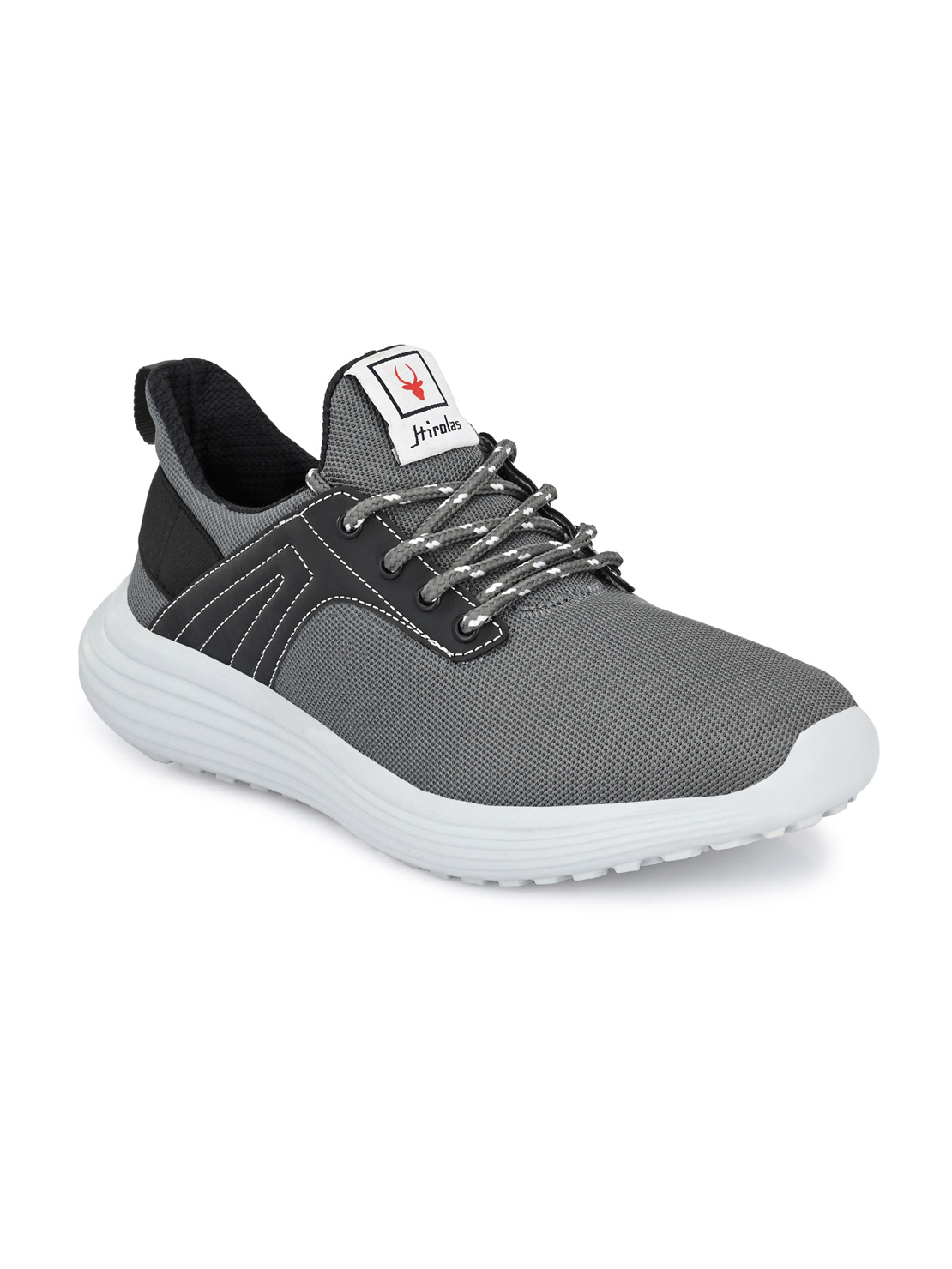 Hirolas | Hirolas® Men's Mesh Grey Running/Walking/Gym Sports Sneaker Shoes