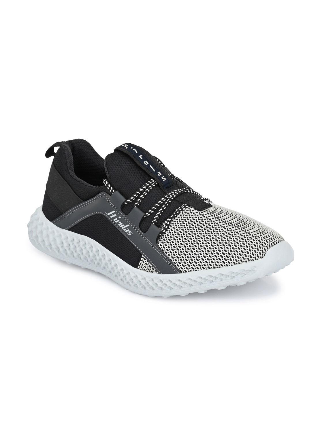 Hirolas | Hirolas® Men's Mesh Grey Gym/Running/Walking Sports Sneaker Shoes