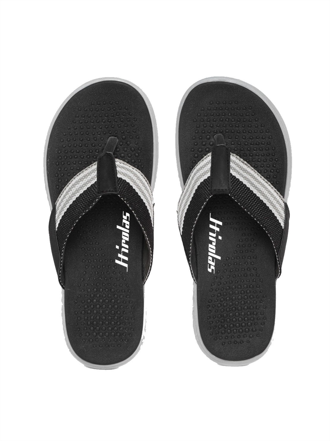 Hirolas | Hirolas® CLOUDWALK | Bounce Back Technology | Slippers for Men - Black