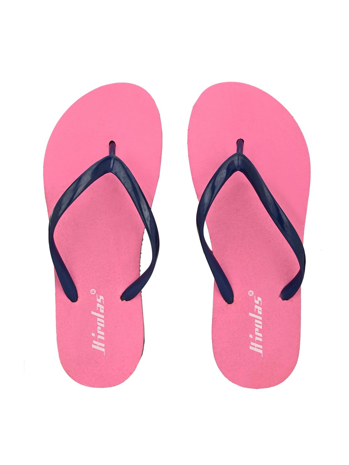 Hirolas | Hirolas® Pink Flip Flop  Slippers for Women