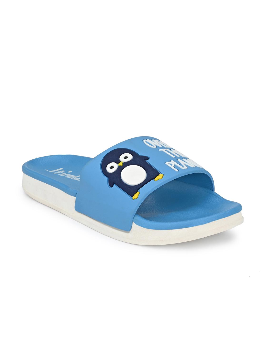 Hirolas | Hirolas® Women designed Slipper Sliders - Blue