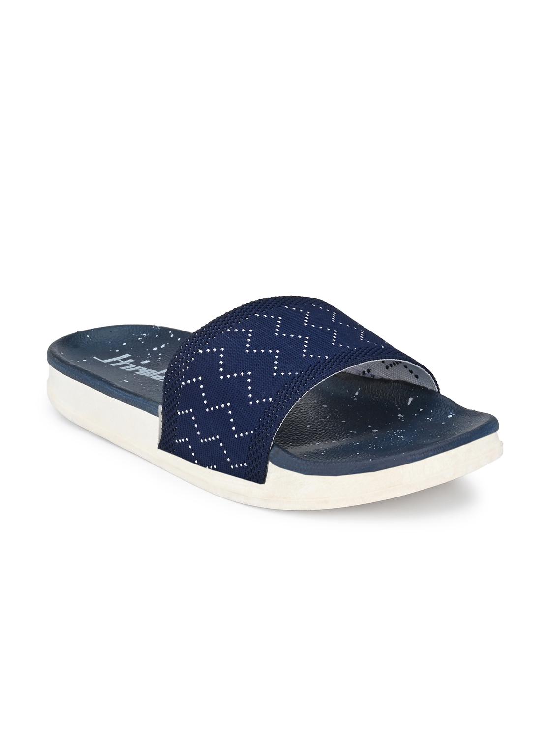 Hirolas | Hirolas® Women Knitted Slipper Sliders - Blue