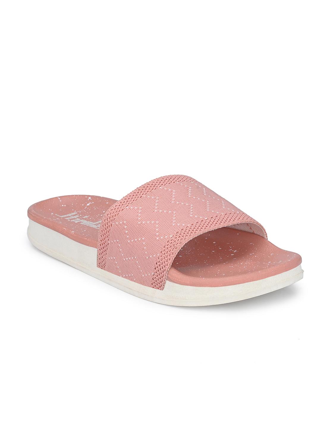 Hirolas   Hirolas® Women Knitted Slipper Sliders - Pink