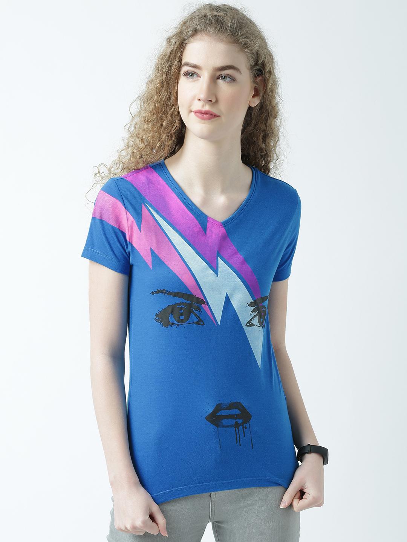 HUETRAP | Huetrap Womens Trendy Vneck Tshirt