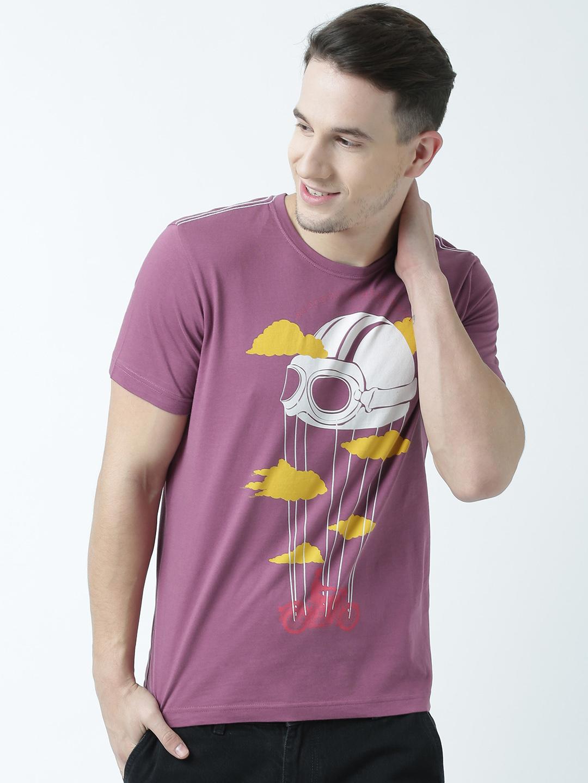 HUETRAP   Huetrap Mens Get in tune Round neck graphic T Shirt