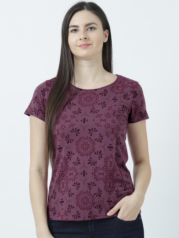 HUETRAP   Huetrap Womens Simple Tones  Graphic T-Shirt