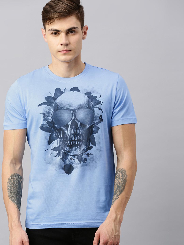 HUETRAP | Huetrap Mens Round neck Short sleeve Rogue Graphic Tee
