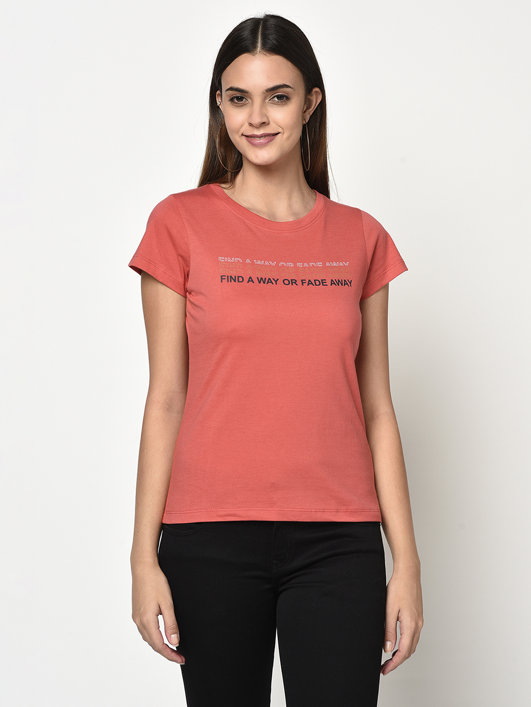 METTLE   Women CARROT T-Shirts