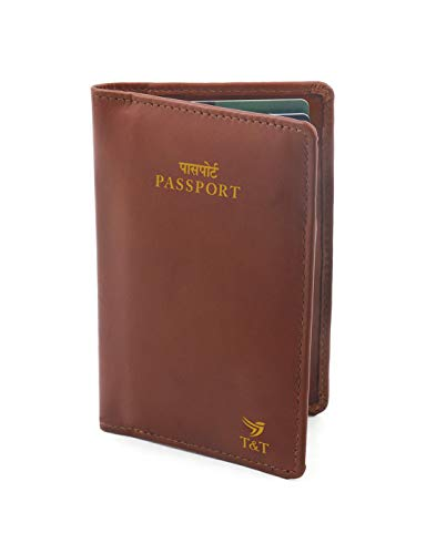 Trends & Trades | Leather Passport Wallet with Card Slots
