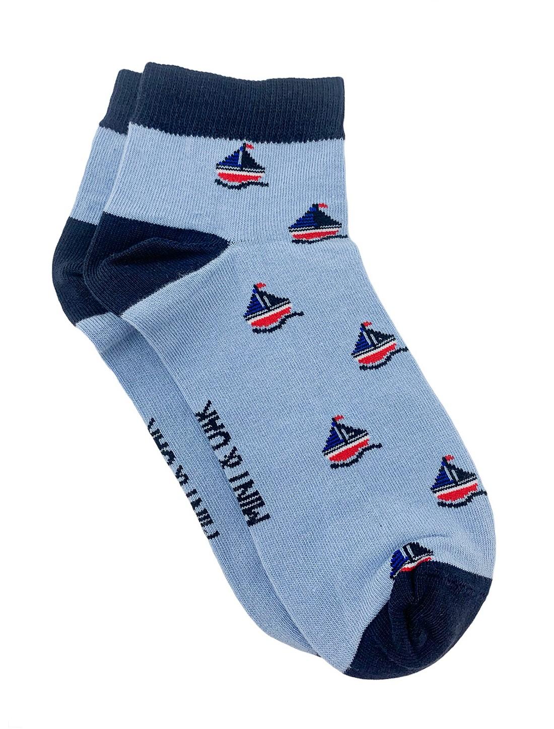 Mint & Oak | Mint & Oak Boat Ankle Length Socks for Men
