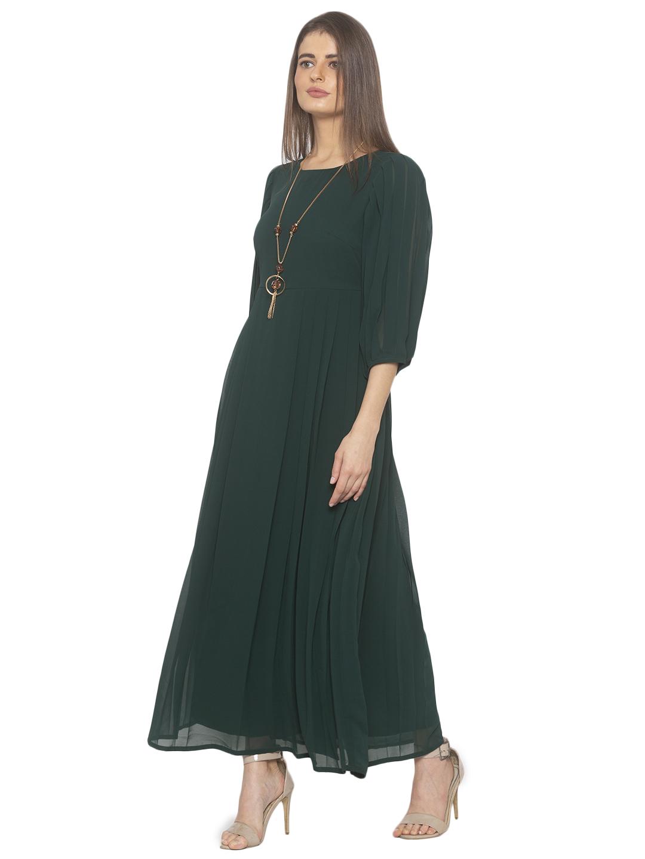 Iti   GreenMaxi Dress