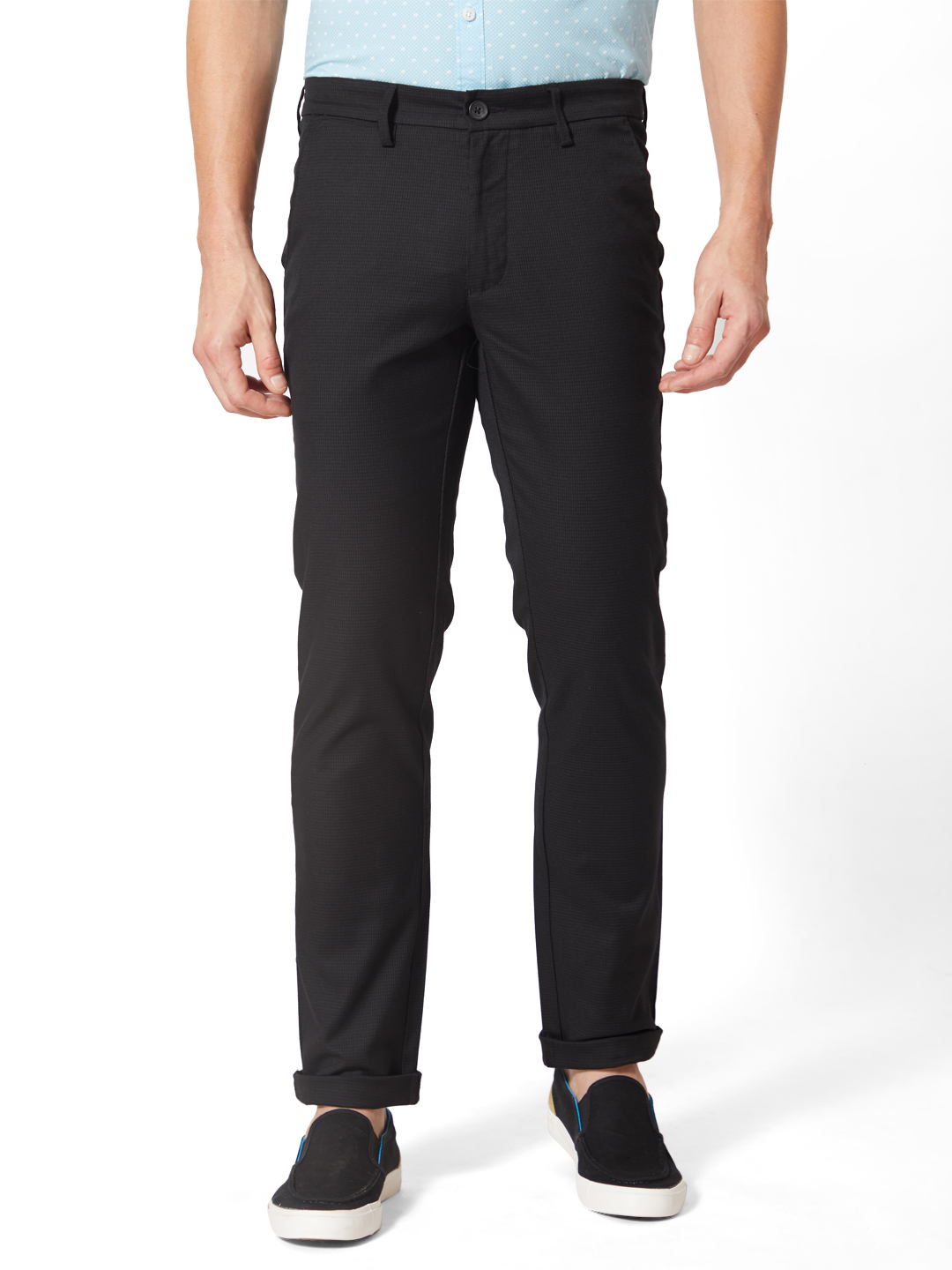 J. HAMPSTEAD | J. Hampstead Men's Comfrot Fit Solid Chinos