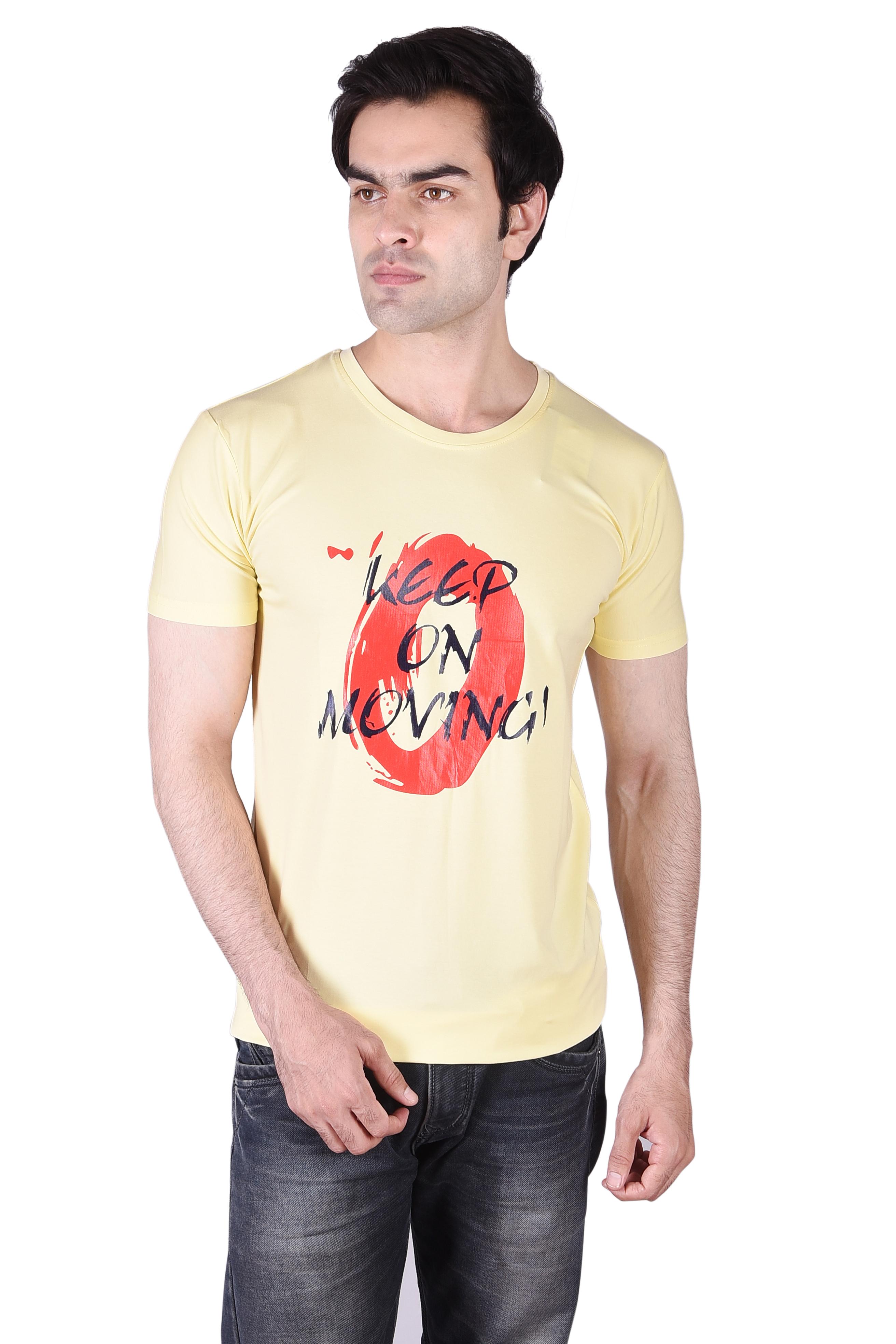 JAGURO | JAGURO Men's Printed T-Shirt.